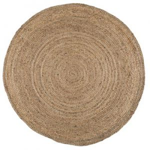 IB Laursen Jute Kleed / Rug 120 x 120 - Naturel